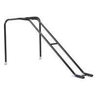 Ableware 712062000 Steel Bowling Ramp-Two Piece-Black
