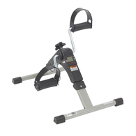 Drive RTL10273 Folding Exercise Peddler w/ Electronic Display-Black