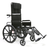 Karman KM5000 Lightweight Wheelchair w/ Removable Desk Armrest