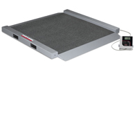 Rice Lake 350-6 Portable Bariatric Wheelchair Scale-Dual Ramp