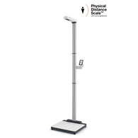 seca EMR-Validated Physical Distancing Touch-Free Scale & Ultrasonic Height Rod