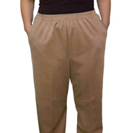 Silverts SV13410 Pull On Pants-Winter Weight Elastic Waist Pants w/ Pockets